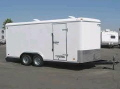 Where to rent TRAILER, 6  X 16  ENCLOSED in Dallas TX