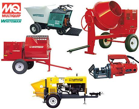 Rent Concrete & Masonry Equipment